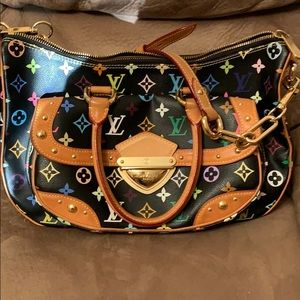Louis Vuitton Multicolored Rita Black
